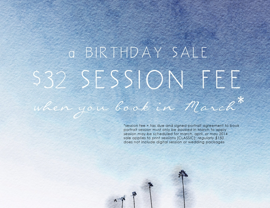 2014 birthday sale